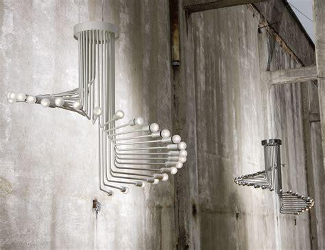 Modern Hanging Metal Wall Art Sculpture Contemporary: Nella Vetrina Italamp Spirale GeR10 Modern Hanging Light