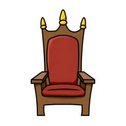 Cartoon Royal Throne Chairs