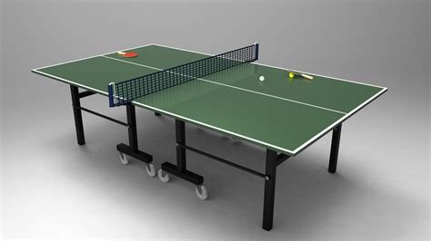 ping pong table net table tennis ping pong table stl solidworks step