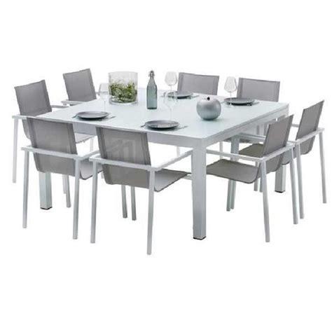 chaises de jardin pas cher ensemble table chaise jardin salon de jardin resine pas