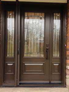 Entry Doors with Retractable Screen