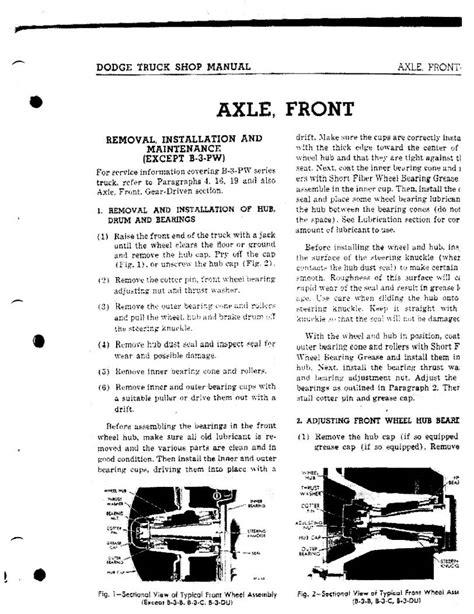 service manual old car manuals online 1992 dodge ram wagon b150 electronic valve timing 1942 dodge truck service manual mchas42dodgetrk 0010 jpg