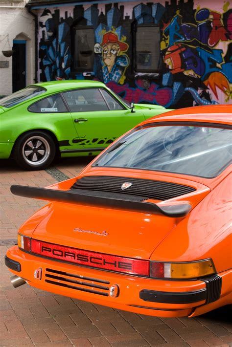 porsche 911 orange compare porsche 911 2 7 carrera versus carrera 3 0 ferdinand