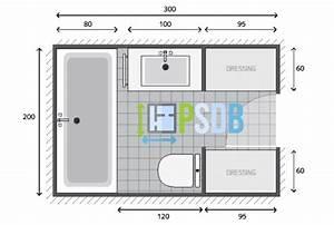 plan plan salle de bain de 6m2 exemple de plan d With exemple plan salle de bain