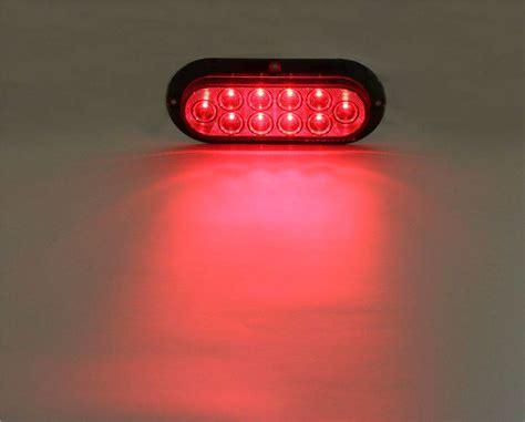light one pro led 6 oval surface mounted led stop turn light