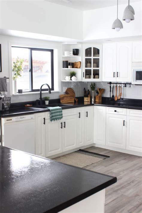 weekend renovation   modern kitchen love create