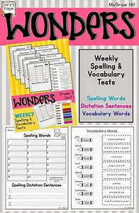 Mcgraw Hill Wonders Spelling And Vocabulary Tests For The