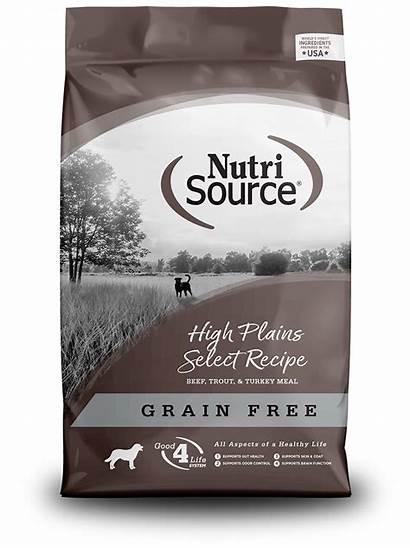 Plains Nutrisource Grain Select Dog Dry Trout
