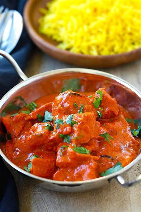 This chicken tikka masala recipe features succulent pieces of chicken that are marinated in a yogurt sauce mingled with aromatic indian spices, then skewered, grilled, and simmered in a the origin of chicken tikka masala is somewhat vague but is believed to be a blend of indian and british influence. Chicken Tikka Masala Recipe {Authentic} - Rasa Malaysia