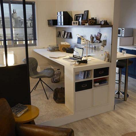 organiser un bureau déco salon un bureau avec des rangements astucieux un
