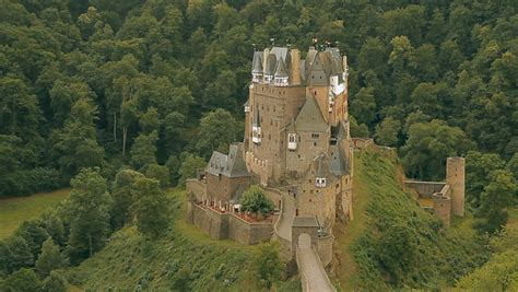 ancient castle  majestically stock footage video
