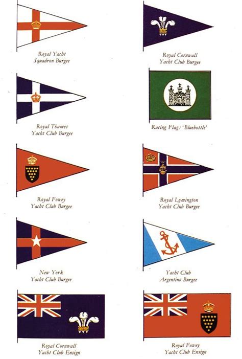 Handmade Boat Flags by 59 Best Images About Yacht Club Burgees On