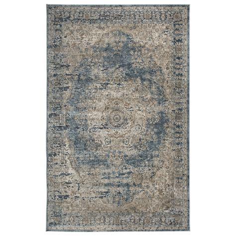 furniture rugs signature design by ashley traditional classics area rugs r402722 south blue tan medium rug