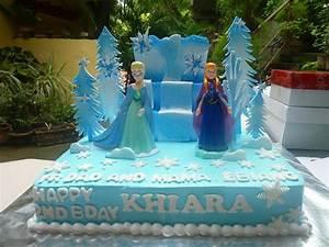 Frozen Anna & Elsa Birthday Cake – Cakes and Memories