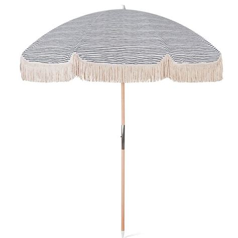 Wooden Beach Umbrella With Fringes 200cm BU-312 - Custom ...