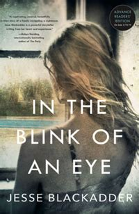 In the blink of an eye (out NOW in the USA)   Jesse Blackadder