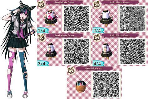 ACNL- Ibuki Mioda Outfit QR Codes (Request) by ACNL-QR-CODEZ on DeviantArt