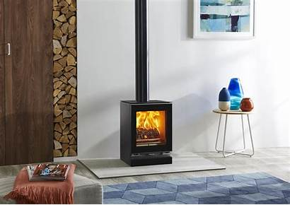 Stovax Stoves Stove Vision Burning Wood Fire