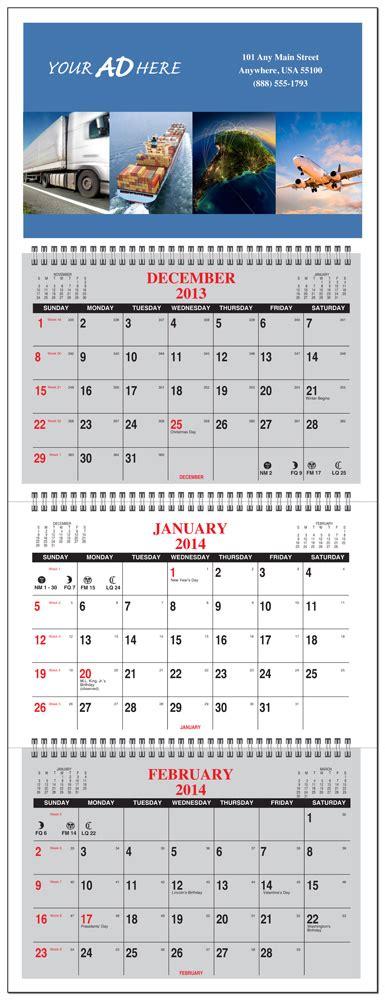 month calendar glance panel numbered weeks calendar