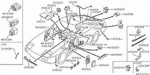 Nissan Pathfinder Diode Alternator Harness  Fed  Cal  Body