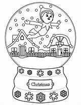 Elf Shelf Coloring Pages Sheets Printable Snowball sketch template