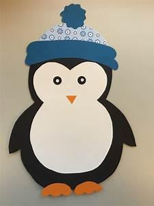 Basteln Winter Kinder : klassenkunst fensterdeko pinguin freebie basteln mit kindern pinterest fensterdeko ~ Frokenaadalensverden.com Haus und Dekorationen