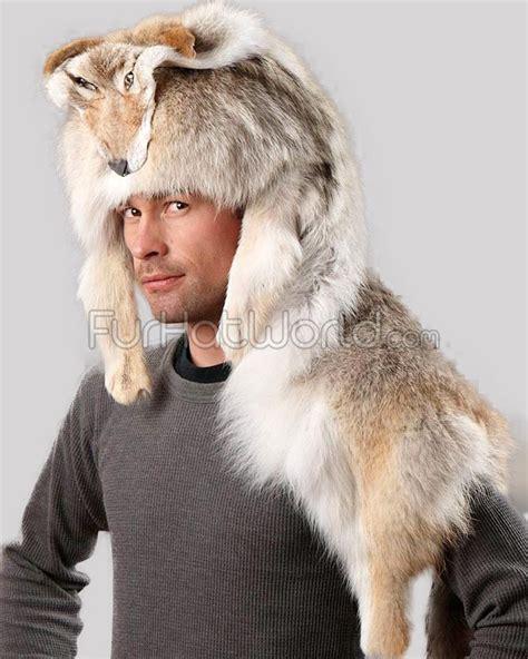 home interior representative coyote fur mountain hat furhatworld