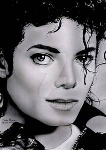 Michael Jackson Bad era by Chrisbakerart on DeviantArt
