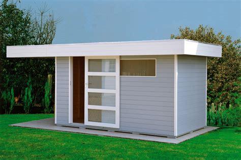 Abri De Jardin Toit Plat Au Design Contemporain Import
