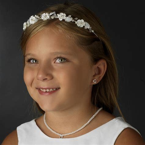 bluebell flower bridal headband elegant bridal hair