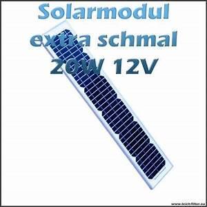 Solar Inselanlage Berechnen : solarmodul 20w 12v extra schmal monokristallin f r garten und boot ~ Themetempest.com Abrechnung