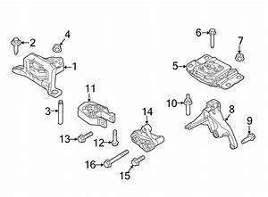 Ford Focus Automatic Transmission Mount  Housing  Manual