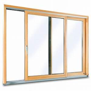 porte fenetre bois alu fenetre24com With porte d entrée pvc avec fenetre coulissante alu