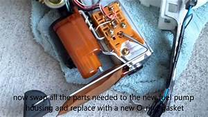 How To Replace Fuel Pump Housing 1999 Toyota Camry