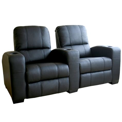 wholesale interiors set of two leather home theater seats