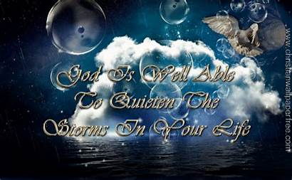 Christian God Able Well Quiet Storm Christianwallpaperfree