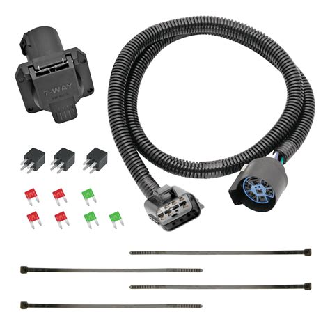 replacement oem tow package wiring harness  7 way wiring harness replacement terminals