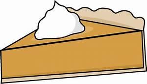 Pumpkin Pie Slice Clipart