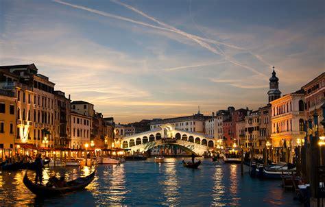 Sunset Venice Print Fine Art Photography Rialto By Myartspace
