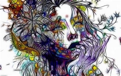 Artistic Woman Abstract Wallpapers Artwork Backgrounds Desktop