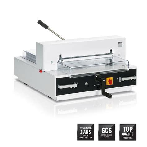massicot de bureau massicot electrique de table ideal 4315 430 mm a3 500
