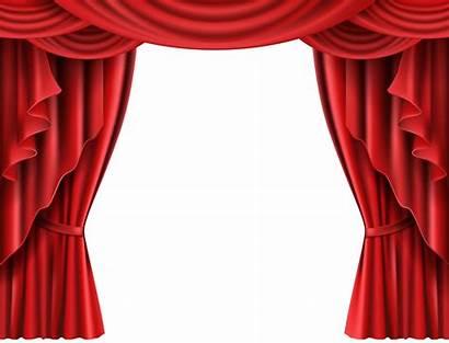Curtains Curtain Theater Transparent Theatre Clipart Clip