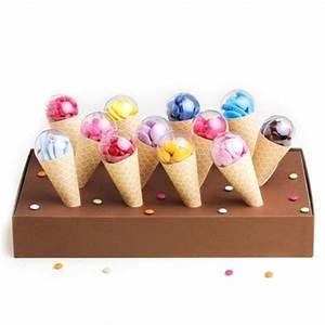 Faire Un Thé Glacé : kit cornet glace 12 pi ces pour d coration de candy bar ~ Dode.kayakingforconservation.com Idées de Décoration