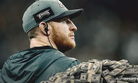 eagles news philadelphia set  pay carson wentz