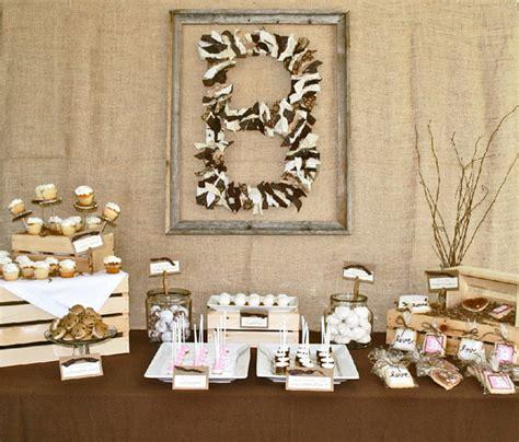 rustic bridal shower ideas pen paper flowers real parties rustic bridal shower ally sowers