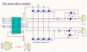L298n Motor Drive Schematic