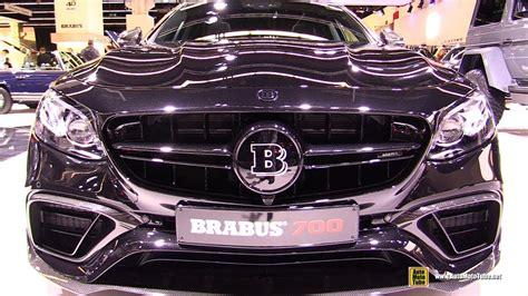 2018 Mercedes Amg E63 Brabus 700
