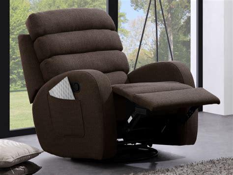 canap 233 et fauteuil relax en tissu 2 coloris turda