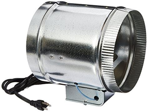 7 duct booster fan tjernlund ef 8auto automatic duct booster fan 8 quot general