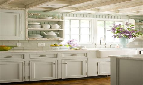 French Country Farmhouse Kitchen French Country Cottage